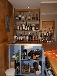 Built-in Bar Shelves (for Single Malt Scotch) - UncaBob.ca
